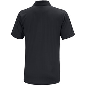 Maier Sports Ulrich Polo Shirt Herrer, black